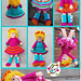 Miss Snappy Doll and Clothes pattern