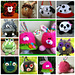 Wuzzie Sunhat, Stuffie and Bag pattern