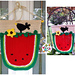 Melon Garden Flag & More pattern
