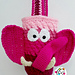 Ellie the elephant hat and bag pattern