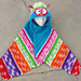 Battle Bird Hooded Owl Towel and Blanket pattern