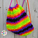 Bright Stripes Backpack pattern
