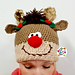 Holiday Pigtail Pals Beanie pattern