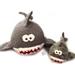 Stuffed Shark Family pattern