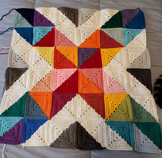 This is a single block. If you go to my projects page, you can see how I put these together.