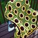 Sassy Sunflower Afghan pattern