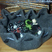 Geek Chic Dice Pouch (felted) pattern