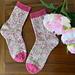 Summer Blooms Socks pattern