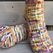 Slip Stripe Sock pattern