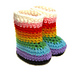 Rainbow Boot for Waldorf Dolls pattern