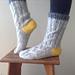 Brezel Socks pattern