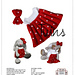 Red Polka Dress and Bow for Big Foot pattern