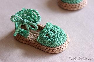 Baby Sandals Espadrille Shoe Booties