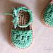Baby Sandals Espadrille Shoe Booties pattern