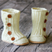 Toddler Wrap Boots pattern