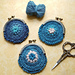 Kiss Clasp Crochet Coin Purses pattern