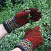 Spice Route Gloves pattern