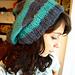 My Striped & Slouchy Hat pattern