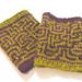 Maze Wristwarmers pattern