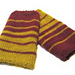 Fibonacci Striped Wristwarmers pattern