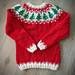 Christmas Lopi Sweater pattern
