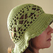 Leaf Buds in the Spring Sunhat pattern