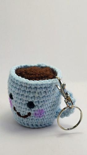 Amigurumi Coffee Cocoa Mug Crochet Free Patterns | Free crochet ... | 500x281