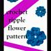 ripple flower pattern