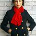 Chunky Lace Knit Scarf pattern