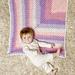 Mitered Granny Baby Blanket pattern
