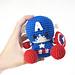 Baby Captain America pattern