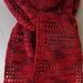 Heart2Heart Crochet Scarf pattern