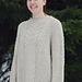 Super Moon Sweater pattern