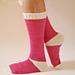 Sling Heel Socks pattern