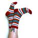 Loaded German Short Row Socks pattern