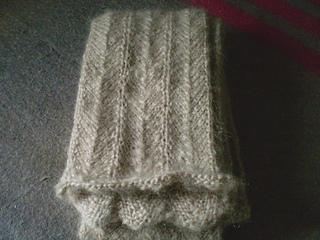 Barbara's scarf - finished