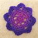 Crochetbird's flower motif pattern
