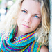 Energizing colours scarf pattern