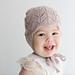 Clover Earflap Hat pattern