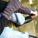 Curiouser Mitts pattern