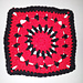 "Eye of the Vampire 6"" Square pattern"