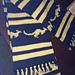 Zips scarf pattern