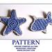 Crochet Starfish and Fish pattern