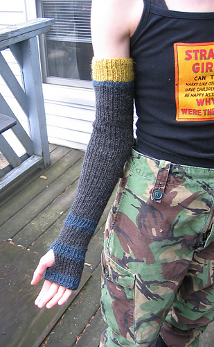 Beth Armwarmers with Thumb Option