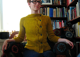Frank Ochre Lauren for new pattern