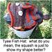 Tyee Fish Hat pattern