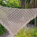 Easy Peasy diamond c2c shawl pattern