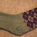 Sneaky Argyle Socks pattern