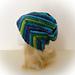Slouchy Twist Beanie Hat pattern