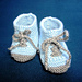 Cute Baby Booties Shoes pattern